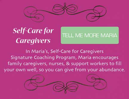 Selfcare for Caregivers.