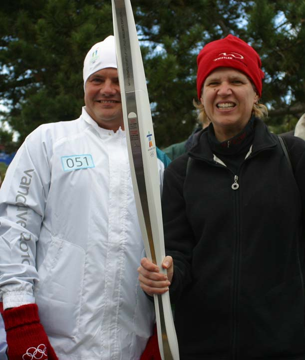 Olympic Torch 2010.
